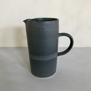 1l blue ceramic jug julie damhus
