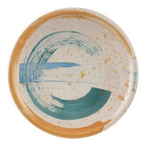 Hand-painted Ceramic Plate II