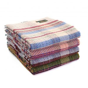 Random Recycled Wool Throw tweedmill