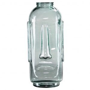 mr big glass vase clear