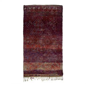 Purple vintage berber