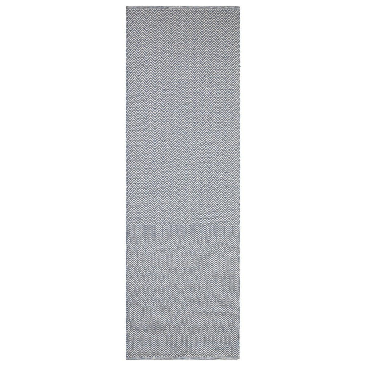 Indoor/outdoor carpet in Indigo Blue/Khaki