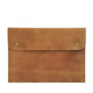 Envelope sleeve camel