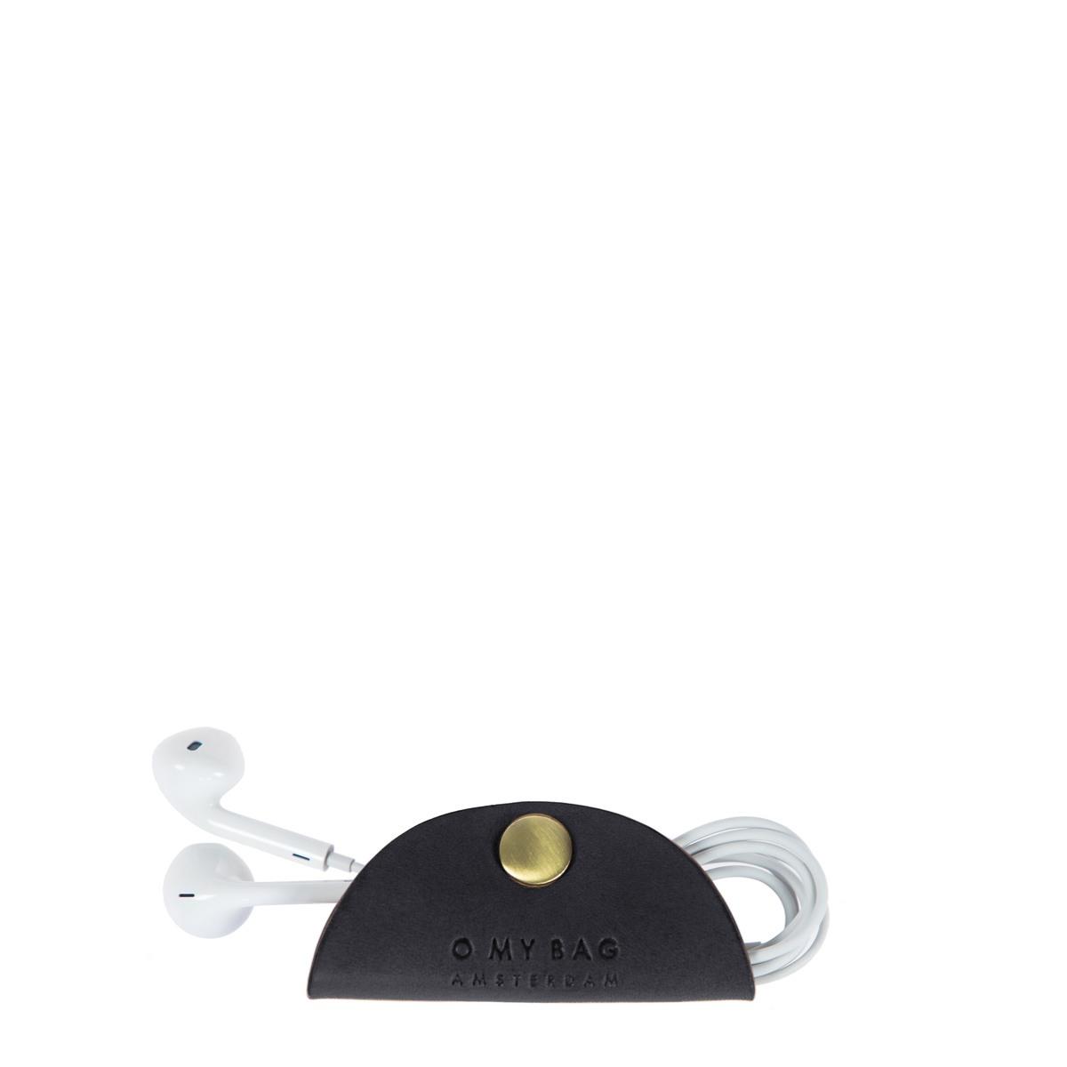 Cord Taco Headphone case Black o my bag