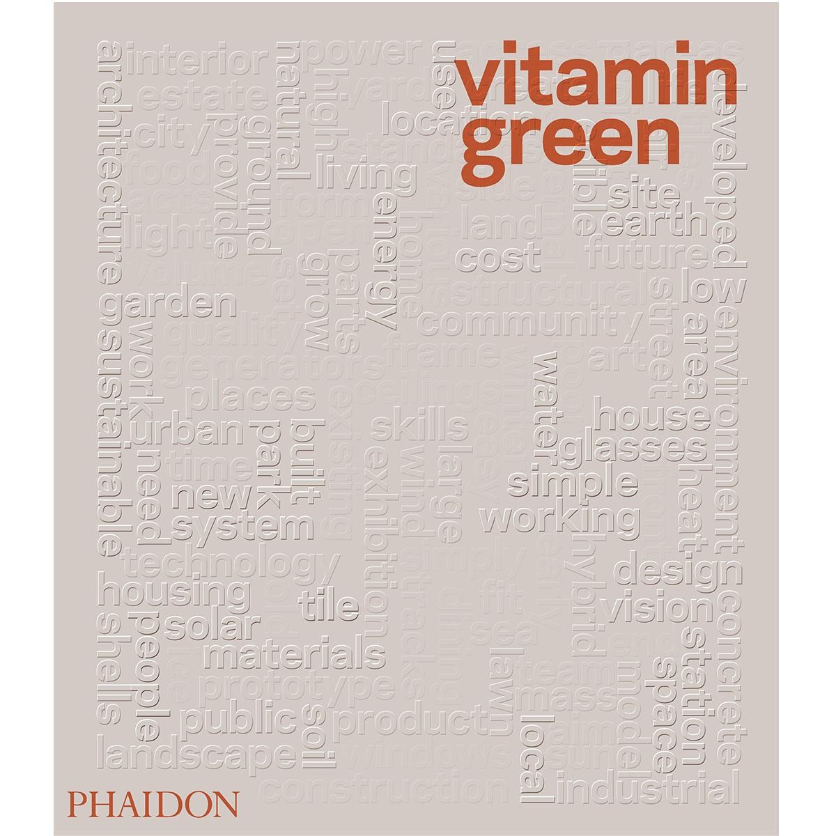 Book, phaidon, Vitamin green