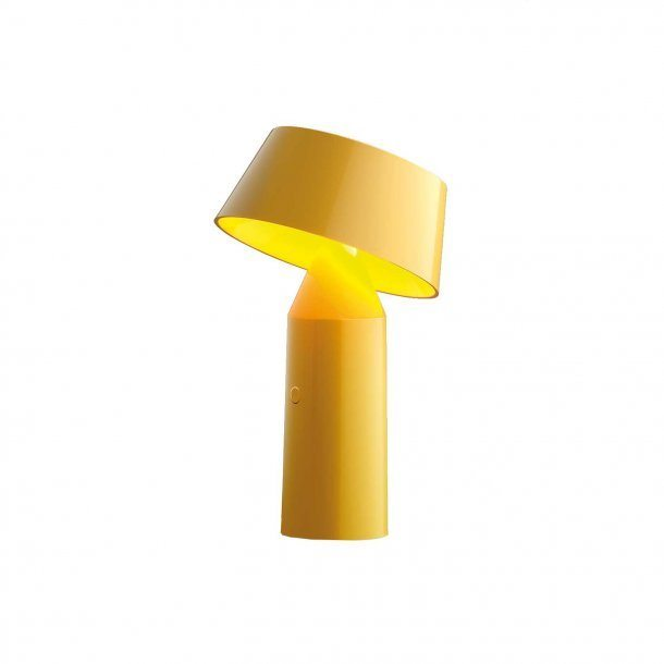 Bicoca table lamp in yellow aloadofball Choice Image