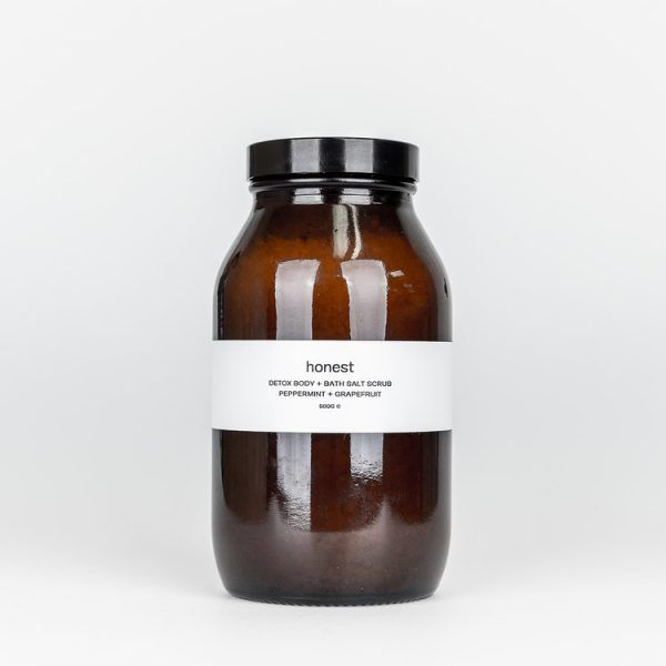 Honest Skincare Detox Peppermint + Grapefruit Bath Salts