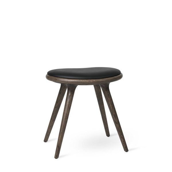 Low Stool – Grey Stained Oak by Mater