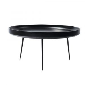 Bowl Table XL black Mater
