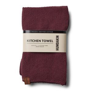 Knitted Kitchen Towel violet plumb Humdakin
