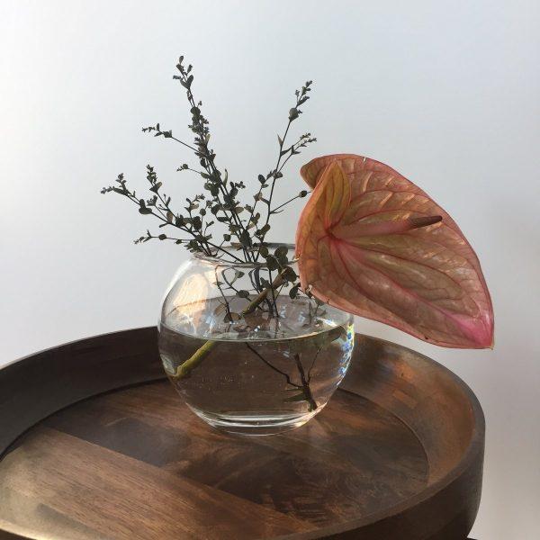 Sempre mouthblown glass vase S