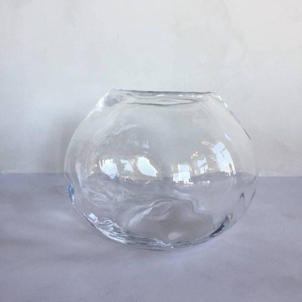 Sempre mouthblown glass vase L