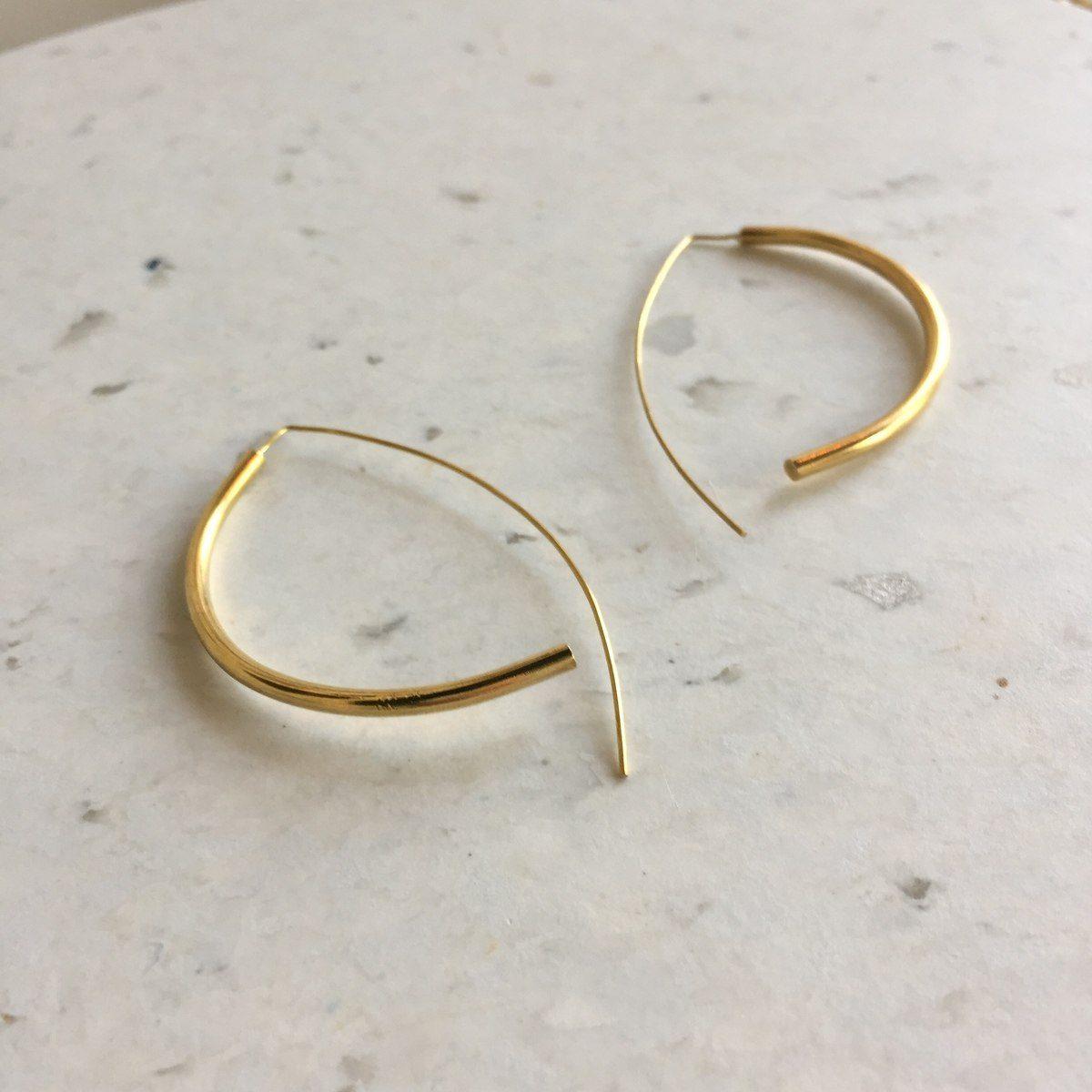 Handmade Brass Earrings