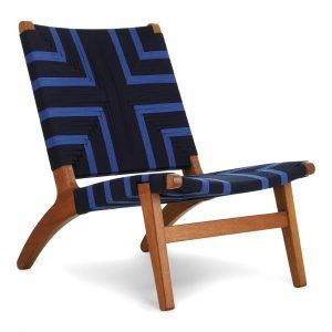 Masaya Lounge Chair Midnight Blue