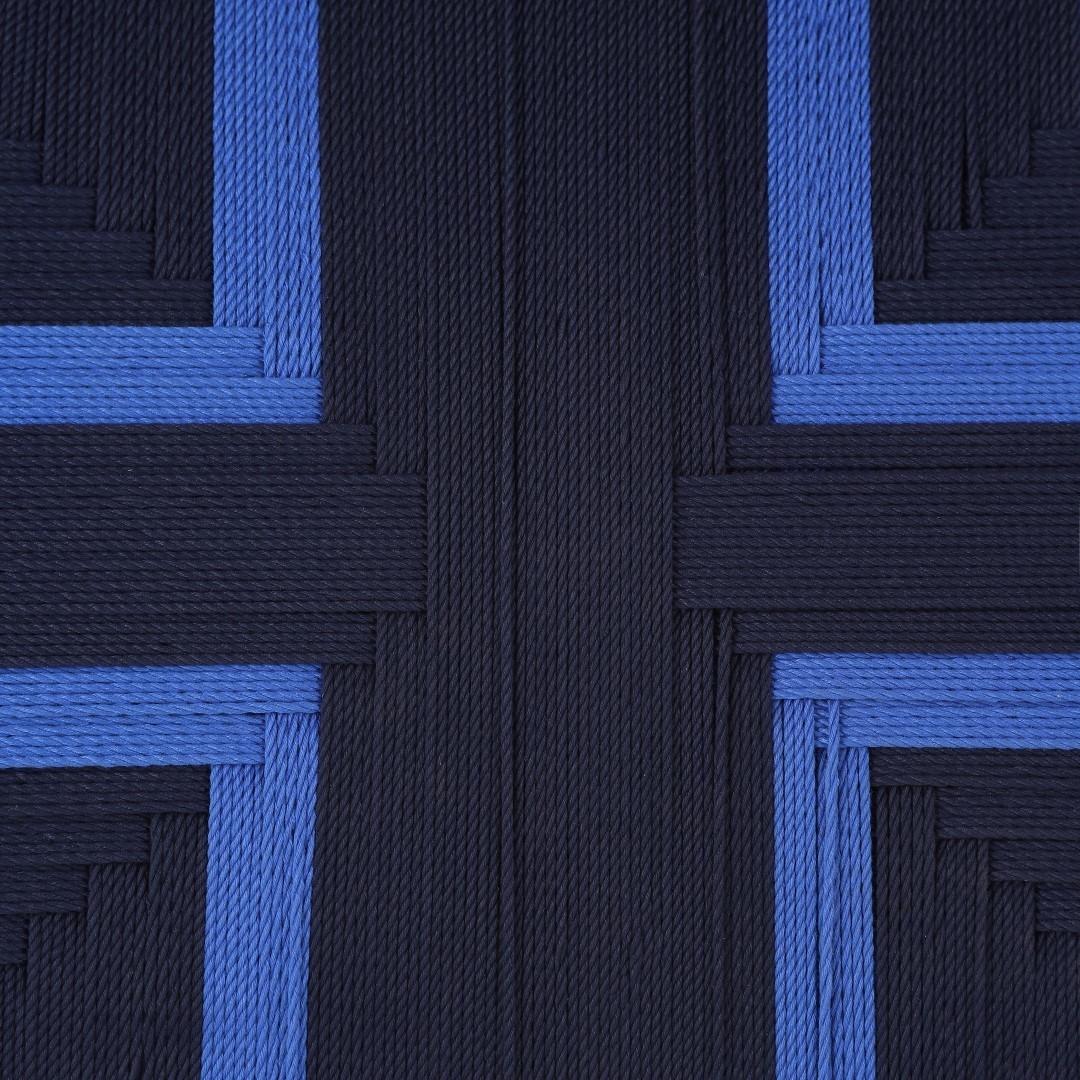 Masaya Lounge Chair Midnight Blue