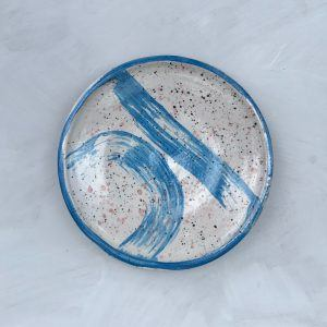 Hand-painted Ceramic Plate I