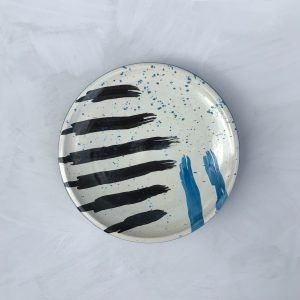 Hand-painted Ceramic Plate IV