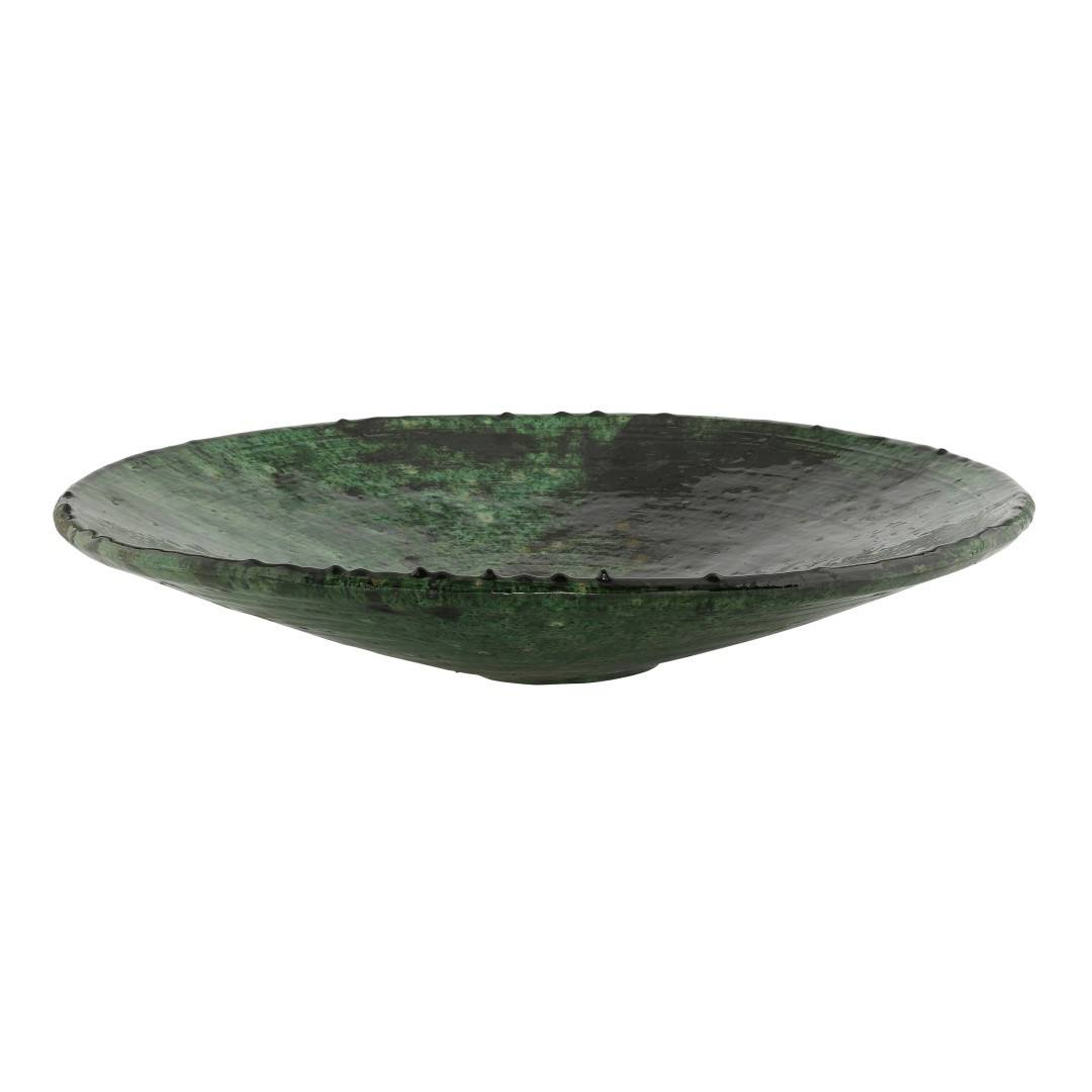 Large Tamegroute Ceramic Plate