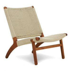 Kids lounge chair offwhite
