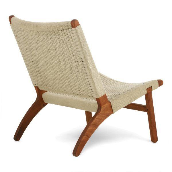 Kids lounge chair offwhite