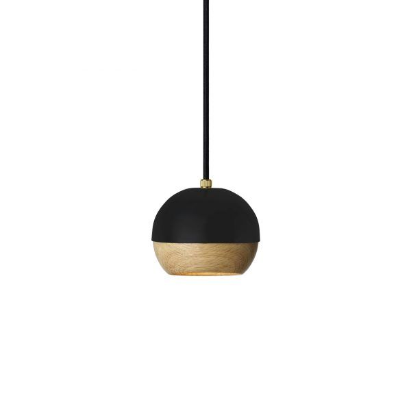 Ray Pendant Lamp black Mater