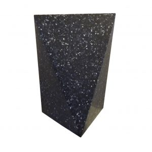 delta stool recycled plastic anthracite