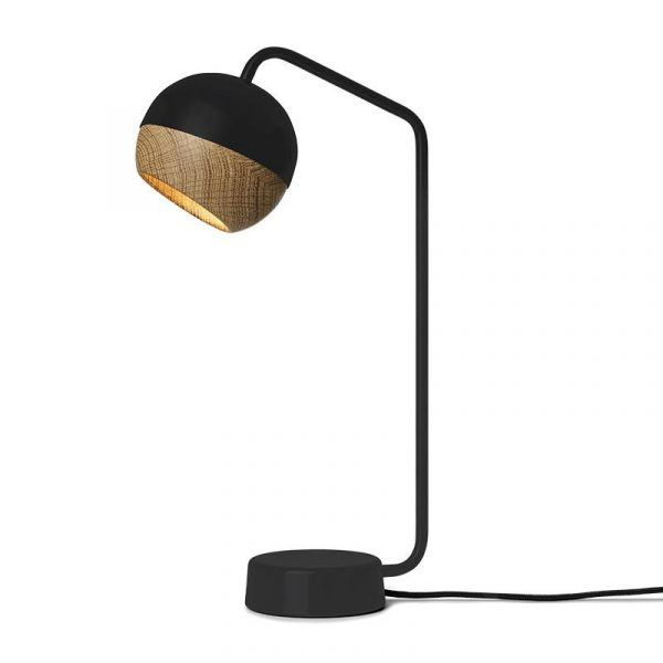 Ray Pendant Lamp Black Oak Mater Desk Danish Design Lightning