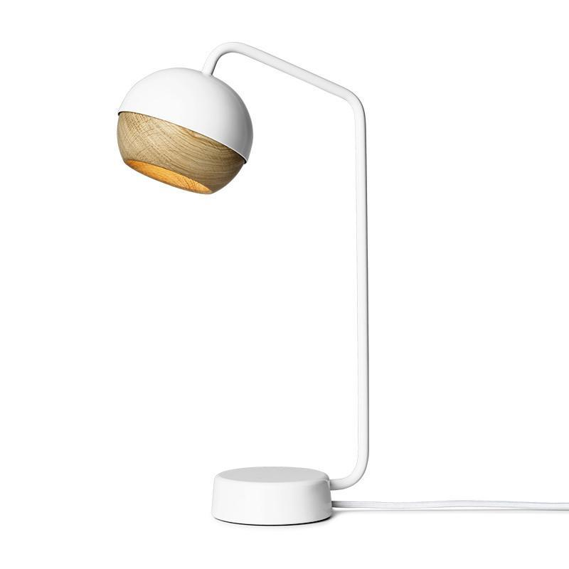 Ray Pendant Lamp White Oak Mater Desk Danish Design Lighting