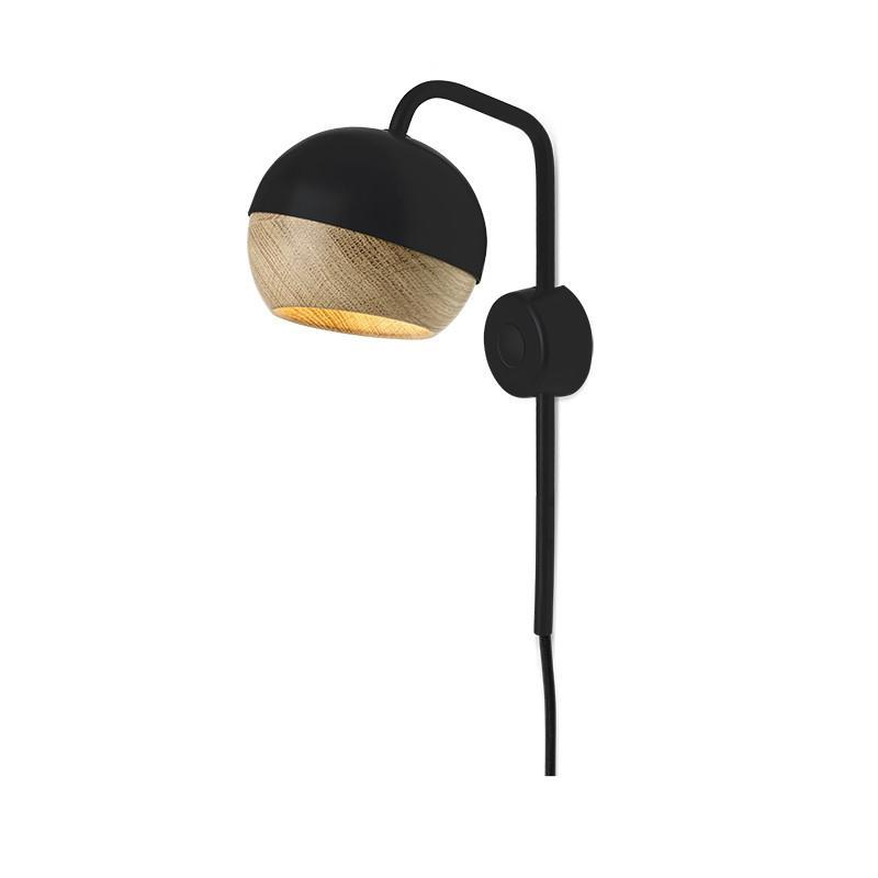 Black Ray Wall Lamp Mater