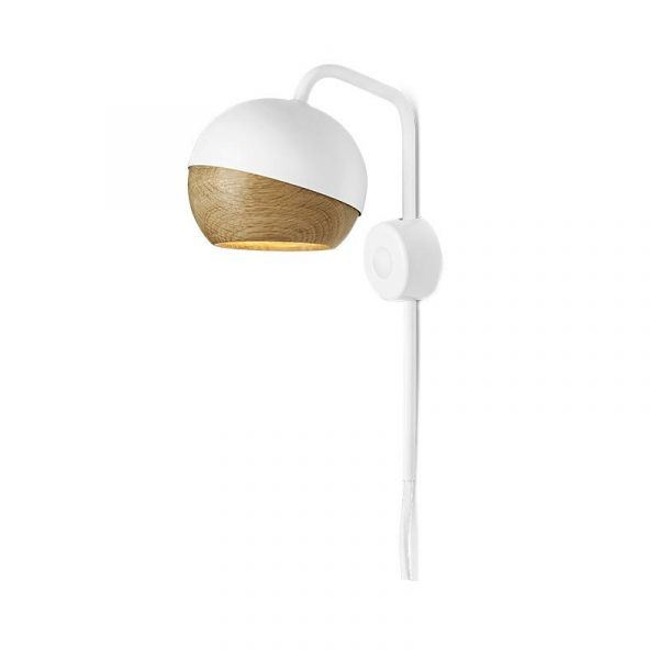 White Ray Wall Lamp Mater
