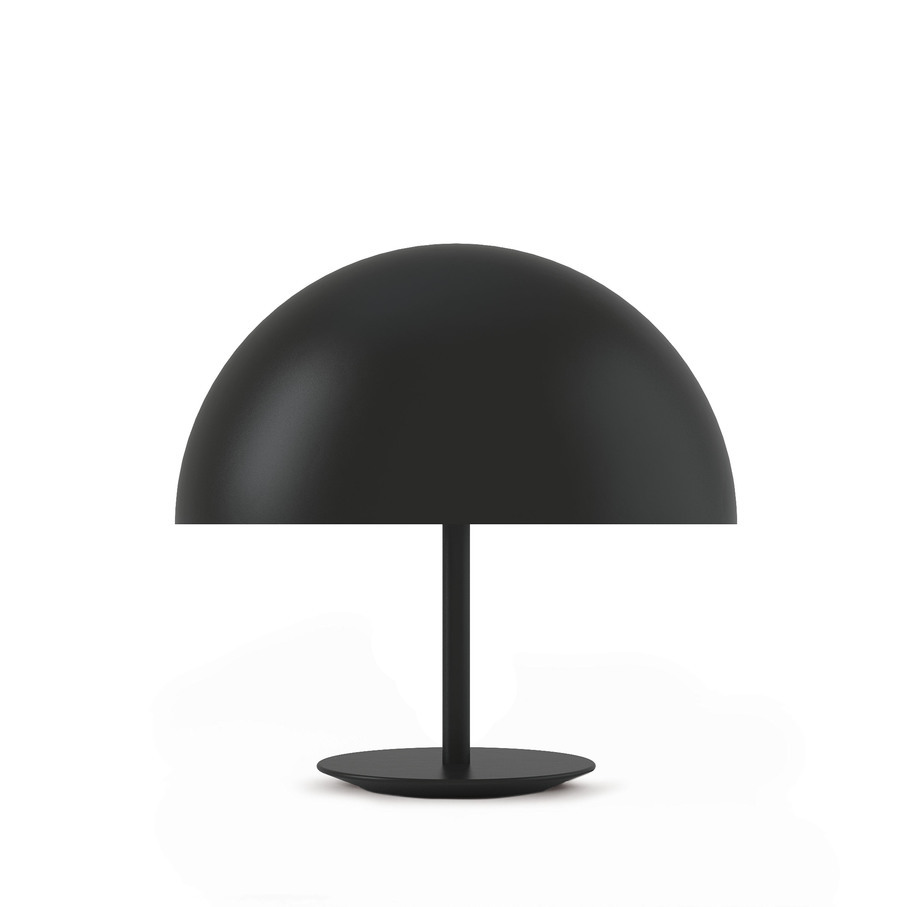black dome lamp mater
