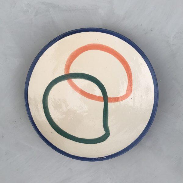 Large Plate N°6 lrnce