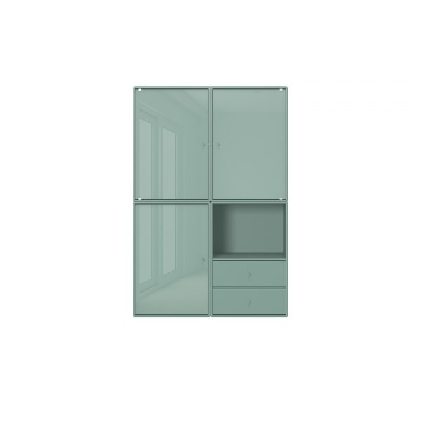 Reflect storage composition glass doors Montana shop at YUME
