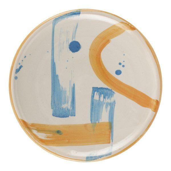 Hand-painted Ceramic Plate III