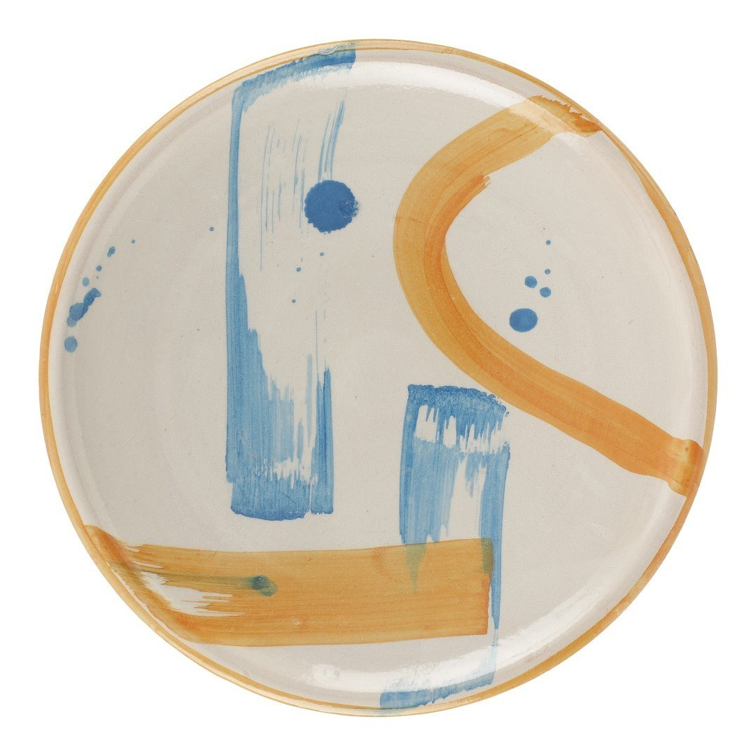 Hand-painted Ceramic Plate III