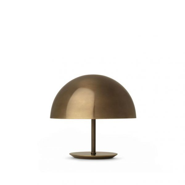 brass baby dome lamp mater