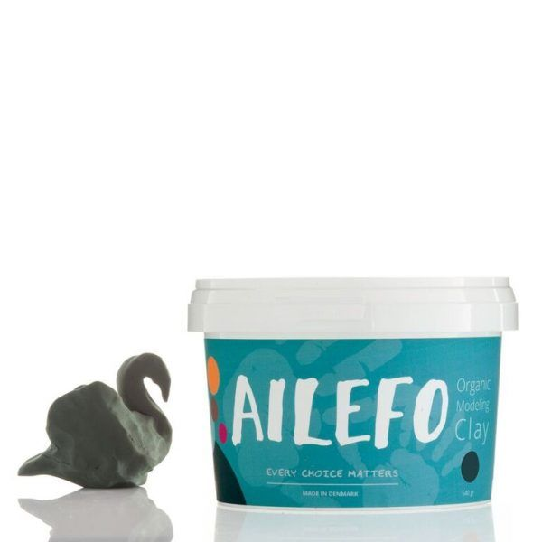 Green Organic Modelling clay Ailefo