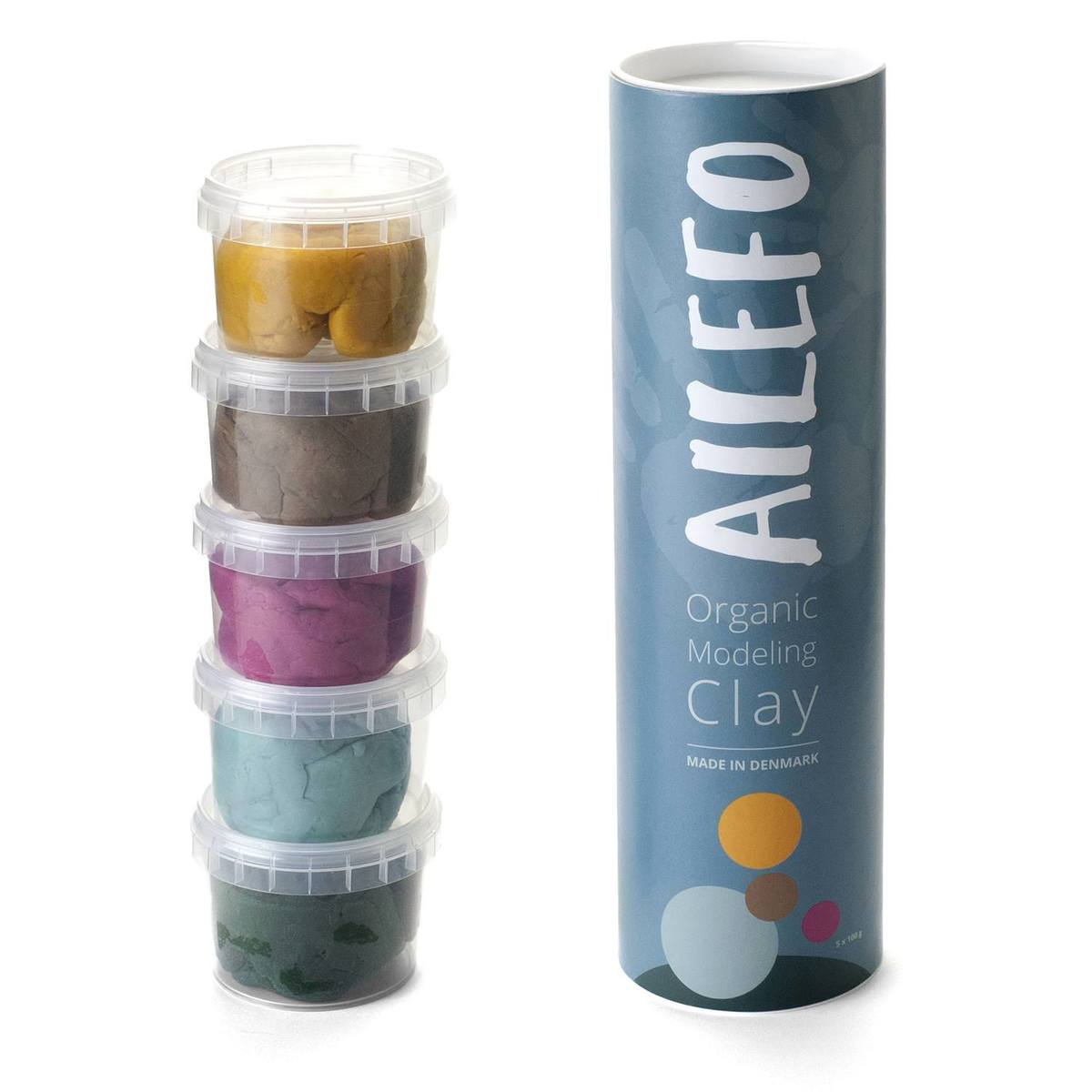 Ailefo Organic Modelling clay small tube