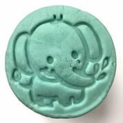 Elephant Stamp Modelling Clay Tools YUME