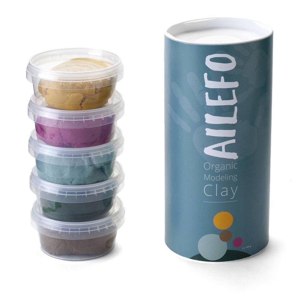 Ailefo Organic Modelling clay large tube