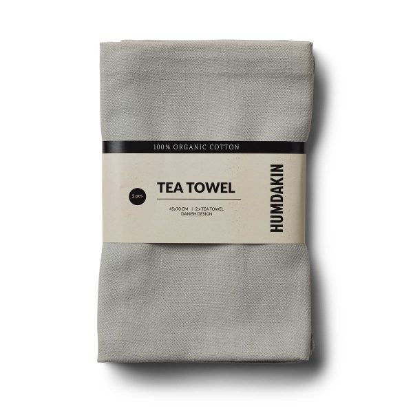Organic Tea Towels Stone Humdakin