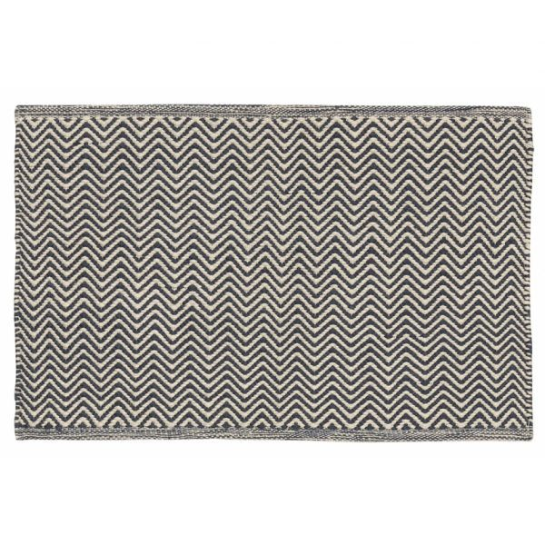 door mat navy ivory chhatwal and Jonsson