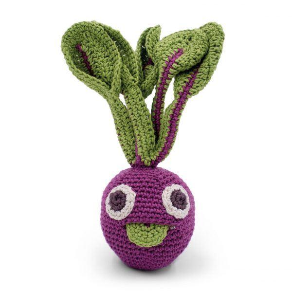 organic beetroot veggie rattle MyuM
