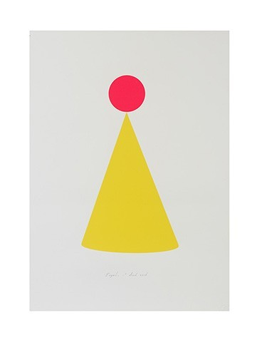 Party Hat screen print engel