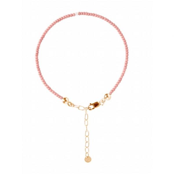 Victoria bracelet rose gold pearl stories