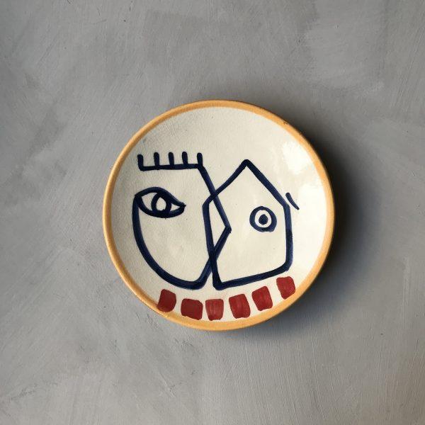 18 cm Plate N°3