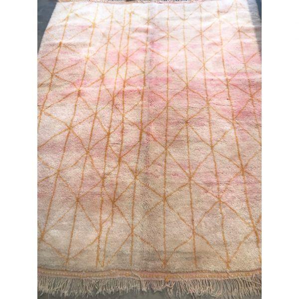 200 x 250 Pink Berber Rug