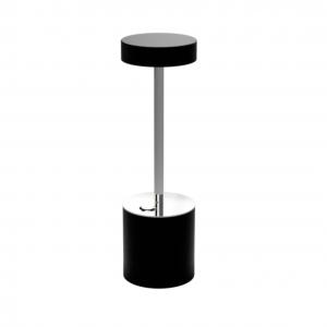 Black & Chrome Table Lamp I