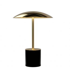 Brass & Black Table Lamp 3