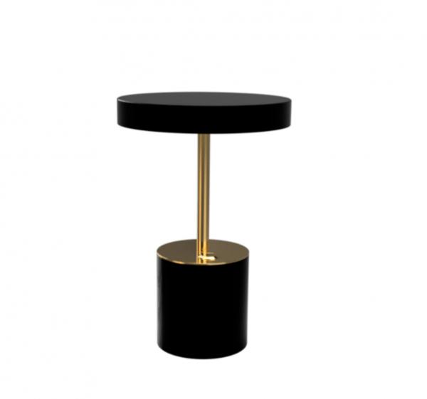Brass & Black Table Lamp 4